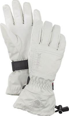 947ab6d6300c6 2018 HESTRA C Zone Powder Female Ladies Ski Glove Size 6 White 32620  waterproof