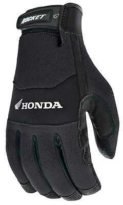 - Joe Rocket Large Black Honda Crew Touch Motorcycle Gloves Lrg Lg L