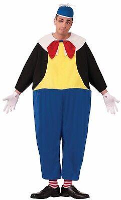 Tweedle Dum Herren Erwachsene Alice Im Wunderland Kostüm