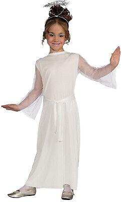 Angel Girls Child White Pure Heavenly Cute Halloween Costume-M - Heavenly Devil Costume