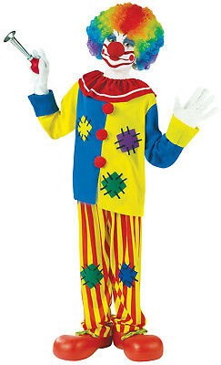 Big Top Clown Unisex Kinder Dumm Süß Zirkus Halloween Kostüm