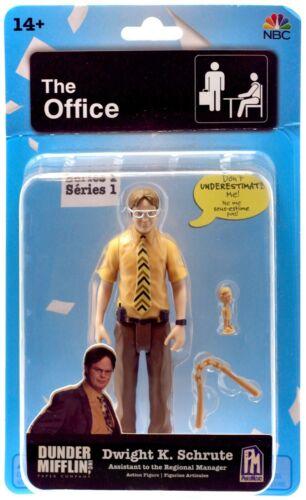 "The Office 5"" Dwight K. Schrute Action Figure PhatMojo Series 1"