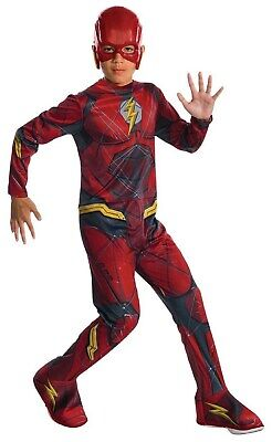 Justice League Flash Boys Dc Superhero Child Halloween Costume](Kid Flash Halloween Costume)
