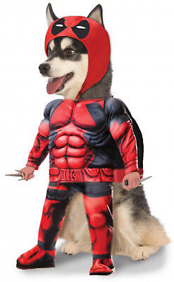 Deadpool Marvel Superhero Wade Wilson Pet Dog Cat Halloween Costume](Deadpool Dog Costume)