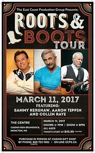Roots and Boots Moncton, 4 tickets