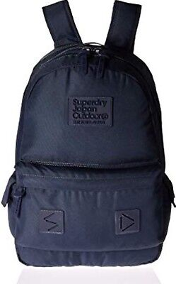 SUPERDRY BACKPACK RARE NAVY SILICONE MONTANA BOOKBAG HARD TO FIND BAG