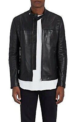 Acne Studios ALEKS Leather Jacket Black EU 46 $1600