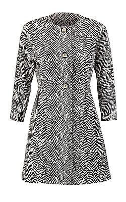 $169 Fall Fashion Style! NEW CAbi 2015 Fall Zigzag Jacket - Size S