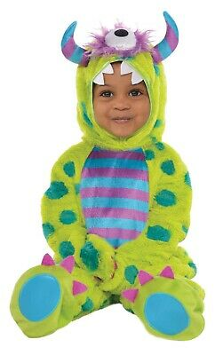 Monster Mash Deluxe Boys Infant Cute Halloween Costume - Monster Baby Costumes