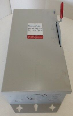 Thomas Betts - Hd361-tb 30 Amp 600v Acdc Fusible Safety Switch Disconnect New