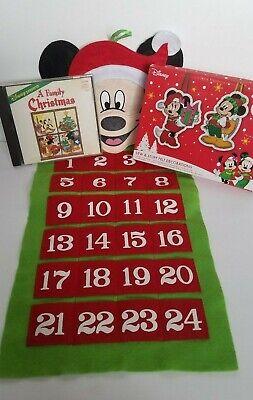 Disney Mickey Mouse Advent Calendar Sew Stuff Ornament Kit A Family Christmas CD