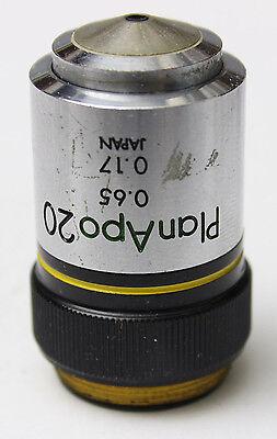 Olympus Planapo 20x 0.65 160mm Microscope Objective Plan Apo