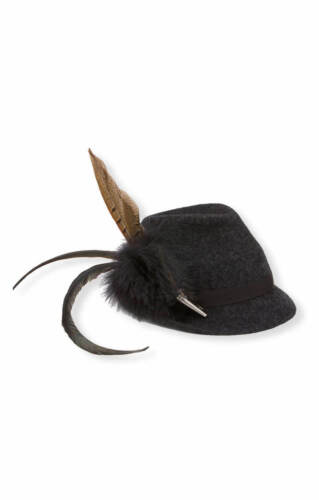 Stockerpoint Traditional Costume Hat H4545 Anthracite