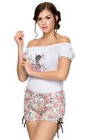 Stockerpoint Costumi Regionali Short Patty Fiori -  - ebay.it