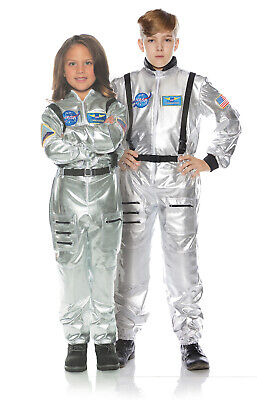 Astronaut Silver Child Outer Space Explorer Halloween Costume