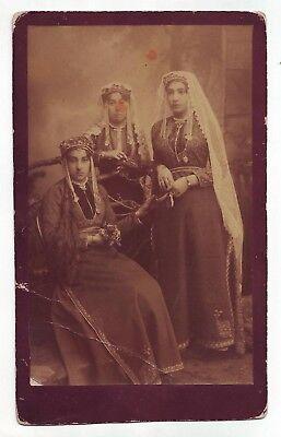 ca1900 Armenian women Taraz Garment Costume Armenia Ethnic Fashion Jewelry