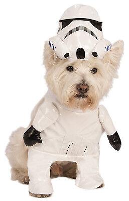 Star Wars Stormtrooper Haustier Hund Katze Halloween Kostüm (Stormtrooper Hund Kostüme)