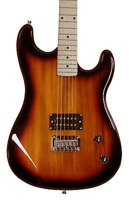 Vintage Sunburst Full Size With Maple Neck Electric Guitar 2nd Used Davison Demo