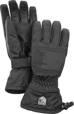 2020 HESTRA C Zone Powder Female Ladies Ski Glove Size 7 Black 32620 waterproof