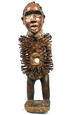 Art African Arts Tribal - Large Fetish in Stud Kongo - Ex Collection - 67 CMS