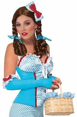 Farm Mädchen Damen Erwachsene Dorothy Zauberer von oz Kostüm - Farm Mädchen Kostüm