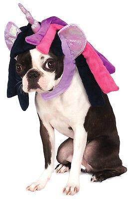Pony Hund Kostüm (My Little Pony Twilight Sparkle Haustier Hund Katze Kostüm Haube)