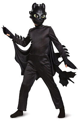Toothless Dragon Halloween Costume (Toothless Boys Child How To Train Your Dragon Halloween)