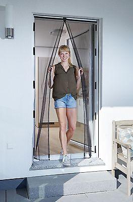 Schellenberg Insektenschutz-Magnetvorhang, Fliegengitter mit Magnet für Türen -