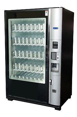 Dixie Narco Bev Max 3 Glass Front Beverage Vending Machine Bevmax 5800