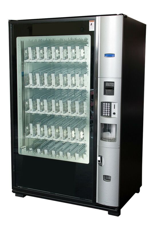 Dixie Narco Bev Max 2 Glass Front Vending Machine Bevmax 5800 FREE SHIPPING