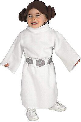 Princesse Leia Star Wars Classique Bébé Fille Enfant Déguisement Halloween