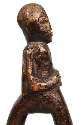Art African - Antique Lance Stone Sling Slingshot Lobi - Position Original