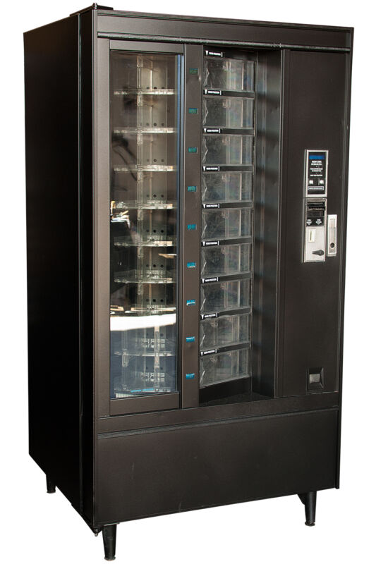 Crane National Shoppertron 431 Rotating Cold Food Vending Machine FREE SHIPPING