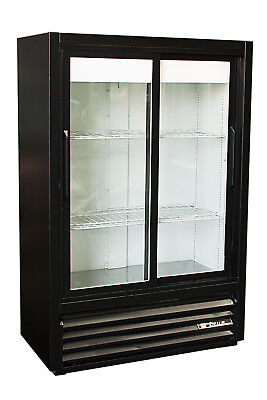 True Gdm-33sl-54 2 Door Glass Front Cooler Refrigerator Free Shipping