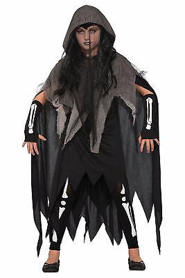 Baby Ghost Costumes (Ghoulie Girl Child Spirit Ghost Skeleton Monster Halloween)