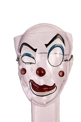 Clown Adult Jester Costume Halloween Clown Circus Unisex Mask