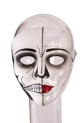 Female Phantom Womens Adult Ghost Bride Costume Face Mask](Female Horror Costumes)