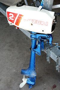 Suzuki outboard motor dt2 0201 2 hp ebay for Suzuki 2 5 hp motor