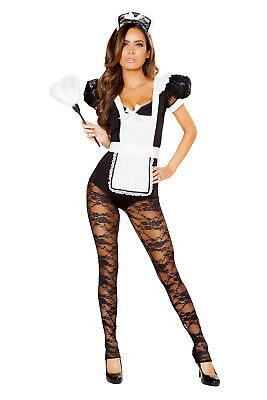 �m Catsuit  Maid Fasnacht Fasching Karneval NEU - USA Import (Mädchen Catsuits)
