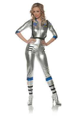 Orbit Womens Sexy Adult Astronaut Outer Space Explorer Costume ()