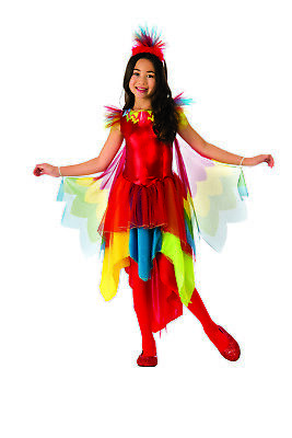 Rio Bird Costume (Parrot Girls Rio Carnival Exotic Bird Animal Halloween)