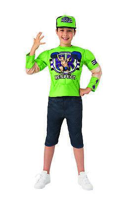 John Cena Wwe Deluxe Jungen Kind Wrestler Halloween - John Cena Kostüm Kind
