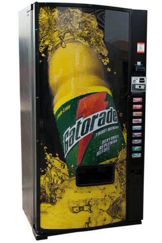 Dixie Narco 501E  Drink Vending Machine Cans & Bottles Gatorade FREE SHIPPING