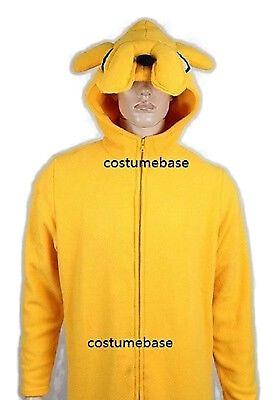 JAKE ADULT COSTUME Adventure Time finn dog halloween - Adventure Time Finn Jake Costumes Halloween