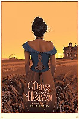 Days of Heaven by Laurent Durieux - Limited Edition Print - Mondo