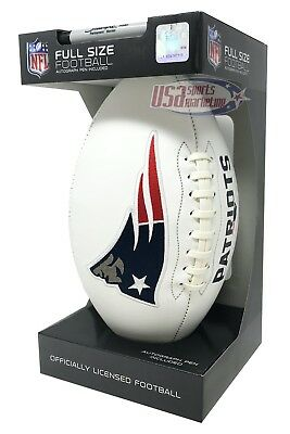 - New England Patriots Signature Series NFL Official Licensed Football - Full Size