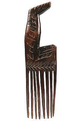 Art African - Comb Beast Antique & Common -
