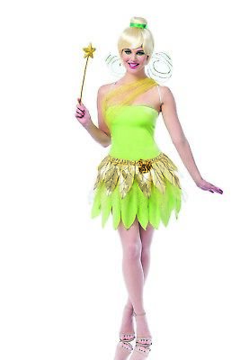 Tinkerbell Womens Adult Peter Pan Storybook Fairy Halloween Costume