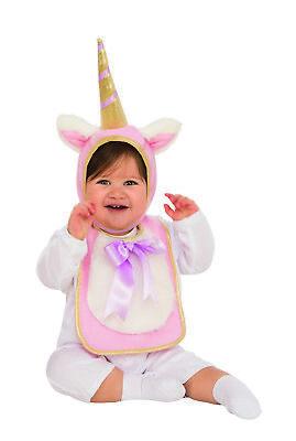 Mystisch Kind Kostüme (Mystisch Einhorn Kleinkind Lätzchen Gold Hupe Halloween Kostüm)