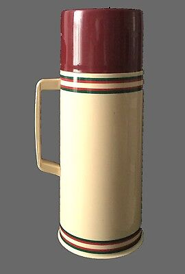 Aladdin 1 QT Thermos Vacuum Bottle, Retro, Vintage, Cool 80's colors